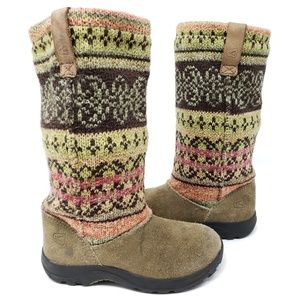 Keen Toddler Girls Sock Boots Suede Multicolor